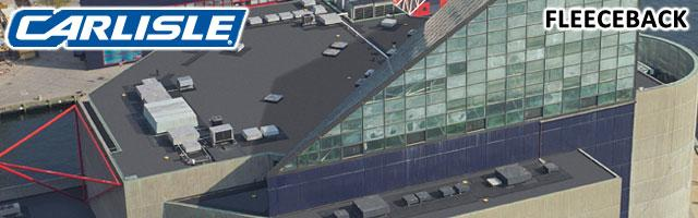 Carlisleu0027s FleeceBACK Is The Ideal Choice For Buildings That Require  Superior Rooftop Protection And Long Term Durability. FleeceBACK Roof  Systems Exhibit ...
